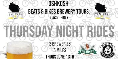 June Ride - Beats & Bikes Brewery Tours: Oshkosh