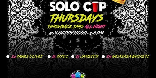 SOLO Cup Thursdays @SHOTS Orlando