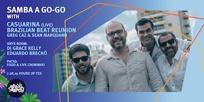 Samba A Go-Go with Casuarina, Brazilian Beat Reunion