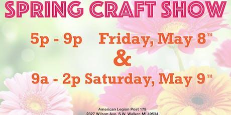 Spring Craft Show tickets