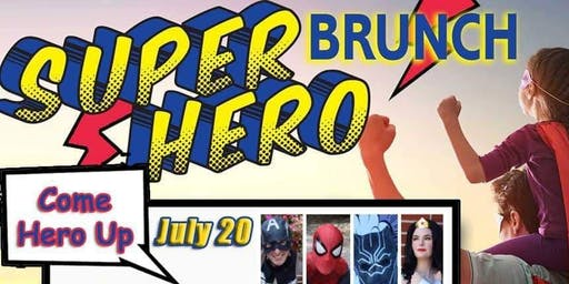 Super Hero Brunch at Woodlawn Beach