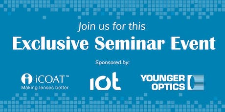 iCoat™, IOT/Younger Optics Seminar Event tickets