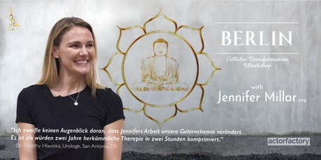 Jennifer Millar - Cellular Transformation: A Channeled Workshop in Berlin! Tickets