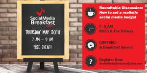 Media Breakfast - How to Develop a Realistic Social...