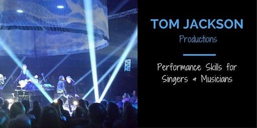 On Stage Success with Tom Jackson