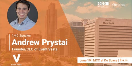One Million Cups with Andrew Prystai, Event Vesta tickets