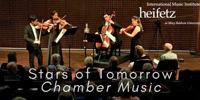 Heifetz Festival of Concerts: Stars of Tomorrow Chamber Music (07/02/19)