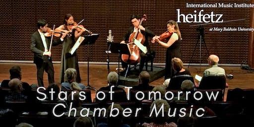 Heifetz Festival of Concerts: Stars of Tomorrow Chamber Music (07/02/19)