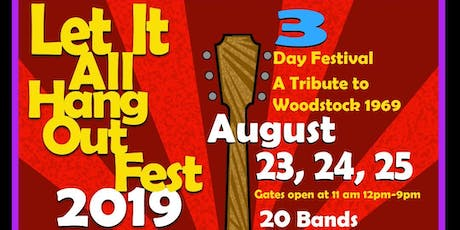 Let It All Hang Out Fest Tickets tickets
