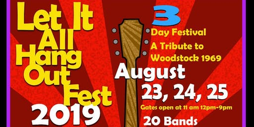 Let It All Hang Out Fest Tickets