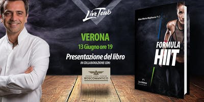 VERONA | Presentazione libro Formula HIIT