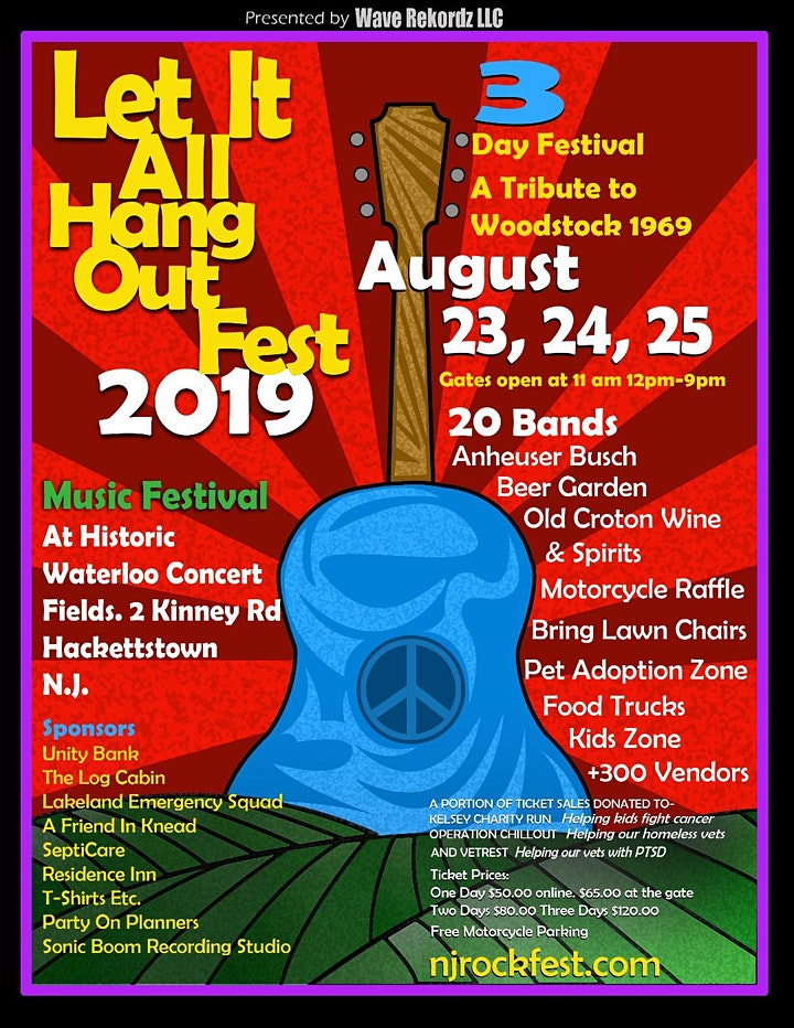Let It All Hang Out Fest Tickets image