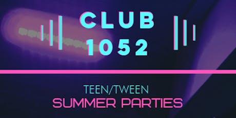 Knock Music Presents: Teen Dance Parties @ Club 1052 tickets