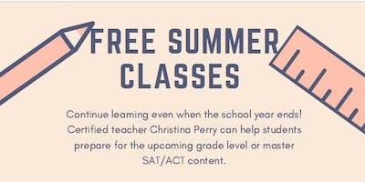 Free Summer Tutoring (SAT, Math, English) @ Alpharetta Library
