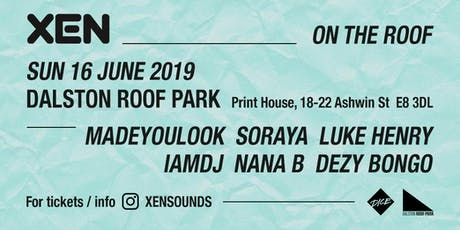XENSOUNDS - On The Roof tickets