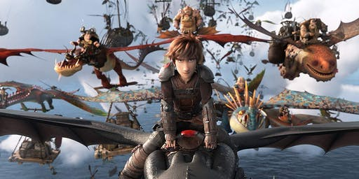 Comcast Sensory Friendly Movie Night: How to Train Your Dragon The Hidden World