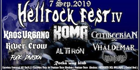 Hellrock fest IV entradas
