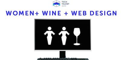 Women + Wine + Web Design