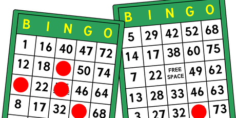 Betelgeuse Bingo tickets
