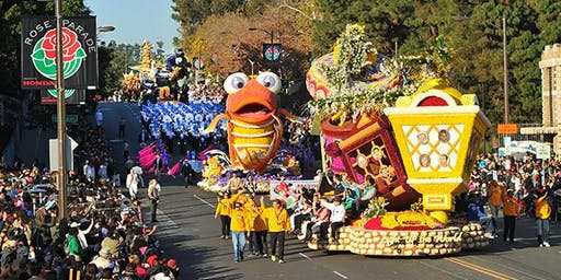 New Years in Southern California with Rose Parade Tour and San Diego 2020