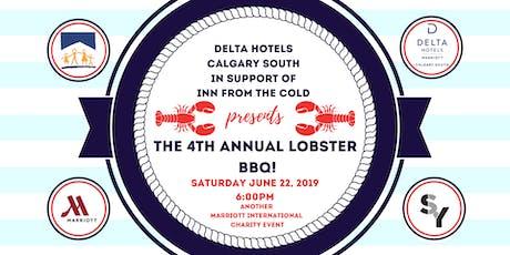 4th Annual Lobster BBQ tickets