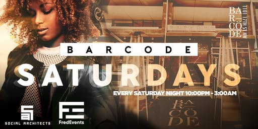 BarCode Saturdays DC | AfroBeats HipHop & Soca {Saturdays}