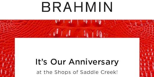 Brahmin's Saddle Creek Anniversary Shopping Event