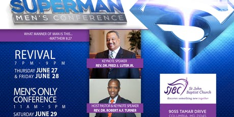 St John Baptist Church Superman Men's Conference tickets