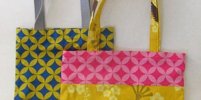 July Kids Sewing Class   Tote Bags   9-17 Years Old