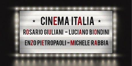 Cinema Italia -  a Jazz Concert with Rosario Giuliani Quartet tickets