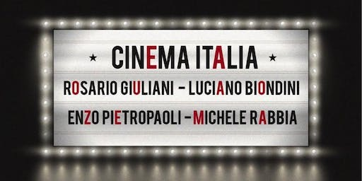 Cinema Italia -  a Jazz Concert with Rosario Giuliani Quartet