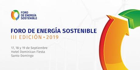 Foro de Energía Sostenible 2019 tickets