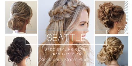 UPDO STYLING + BUSINESS CLASS