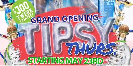 Tipsy Thursday  tickets