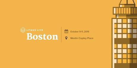 Litmus Live 2019: Boston tickets