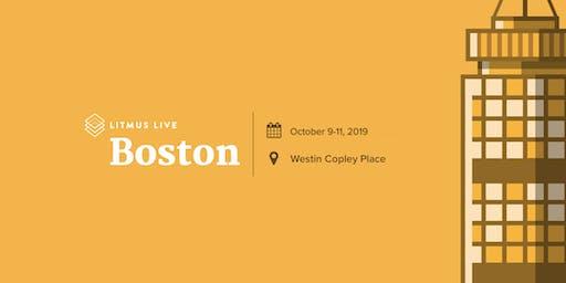 Litmus Live 2019: Boston