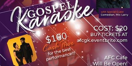 Gospel Karaoke tickets