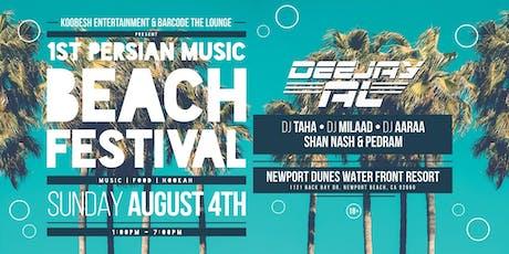 Persian Music Beach Festival tickets