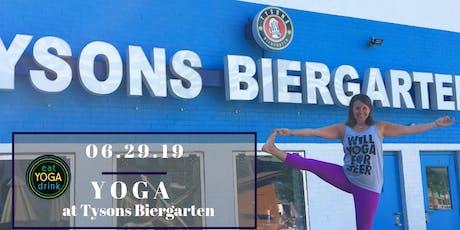 Yoga at Tysons Biergarten tickets