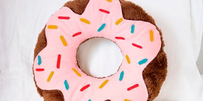 August Kids Sewing Class   Donut Pillows   9-17 Years Old