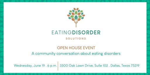 A Community Conversation About Eating Disorders