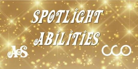 Spotlight Abilities Gala benefiting AoS & CCO tickets