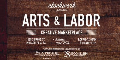 Arts & Labor tickets
