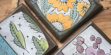 Tile Decorating with Artist Caelin McDaniel tickets