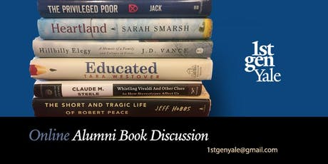 Inaugural 1stGenYale Alumni Online Book Group Discussion - June 23, 2019 tickets