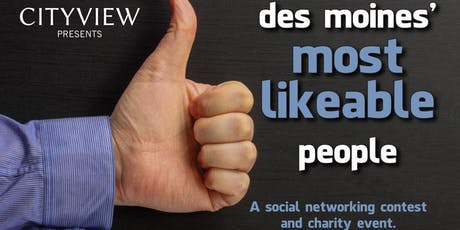 CITYVIEW's Des Moines' Most Likeable People Party tickets