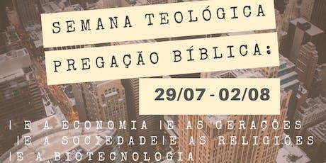 Semana Teológica ingressos