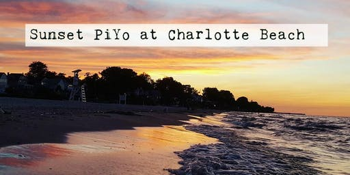 Sunset PiYo at Charlotte Beach