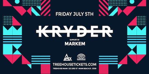 Kryder @ Treehouse Miami