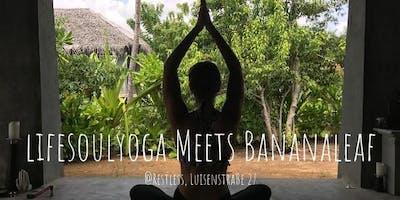 Detox Spring Flow Yoga - Bananaleaf Birthday Pop Up